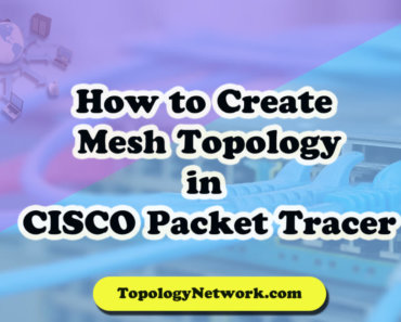 mesh topology in cisco packet tracer
